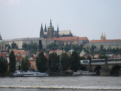 Prague from the River