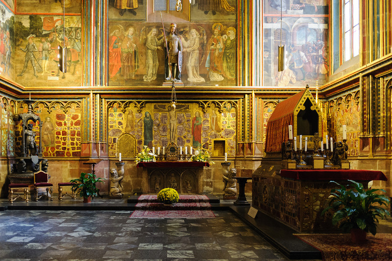 Chapel in St. Vitus Catherdral