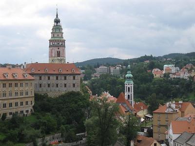 Cesky Castle Tower