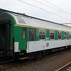 Czech 1st class car 50 54 19-46116 at Praha Liben.