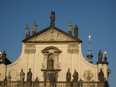 Church just off of Charles Bridge