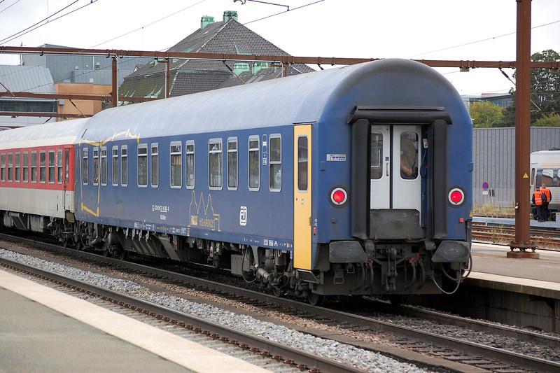 Czech slepper car 61 54 72 91003 at Odense, Denmark on the 15th September 2013.