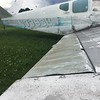 My Bonanza's old ailerons... it's a long story...