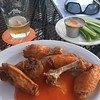 I do miss this. Wings and IPA. Yes, please.