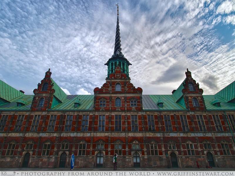 Old Stock Exchange Building Copenhagen