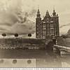 The Palace In Copenhagen Sepia