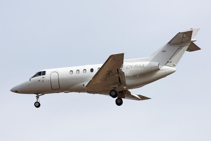 OY-RAA Hawker-Siddley 125-800B c/n 258235 Las Palmas/GCLP/LPA 04-02-16