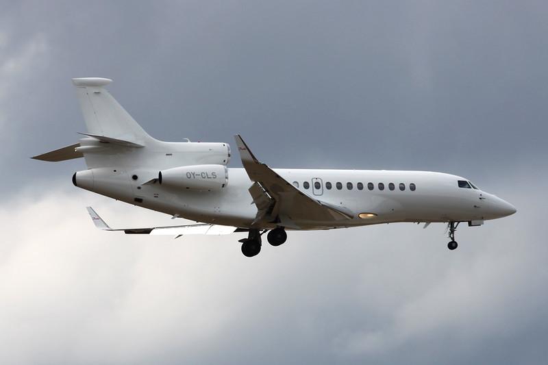 OY-CLS Dassault Falcon 7X c/n 155 Frankfurt/EDDF/FRA 26-06-14