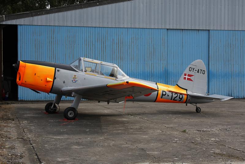 OY-ATO (P-129) de Havilland Canada DHC-1 Chipmunk 22 c/n C1/0108 Namur/EBNM 03-09-17