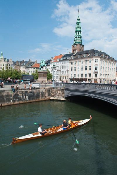 Canal near Hejbro plads, Copenhagen