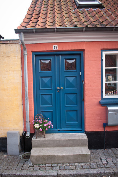 Blue door 58, Aeroskobing