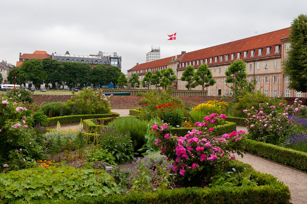 Gardens at Rosenborg Castle and Treasury, Copenhagen
