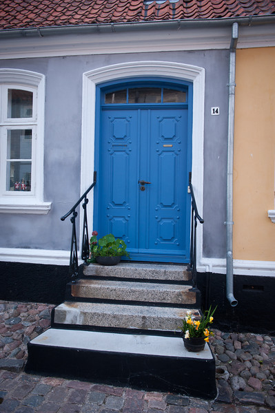 Blue door 14, Aeroskobing