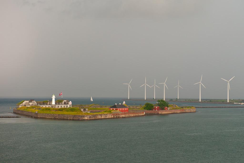 Wind power, Copenhagen harbor