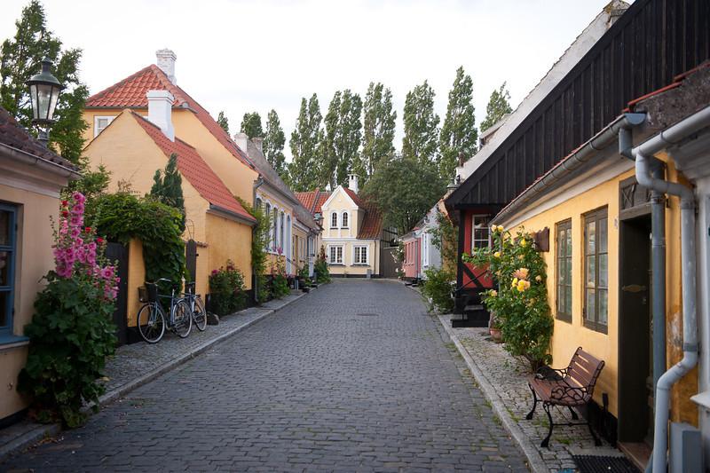Aeroskobing lane, Aero Island, Denmark