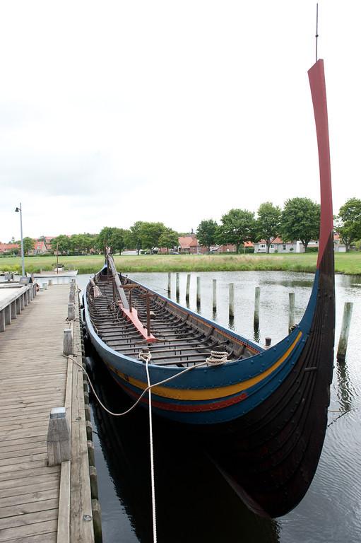 Replica Viking Longship, Roskilde, Denmark