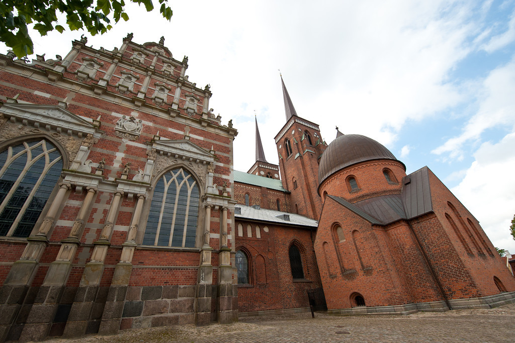 Roskilde Cathedral, circa 12th century, Denmark