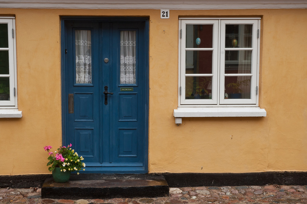 Blue door 21, Aeroskobing