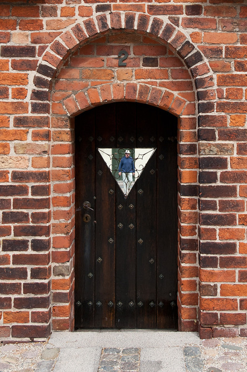 Gate door, Roskilde Cathedral, Denmark
