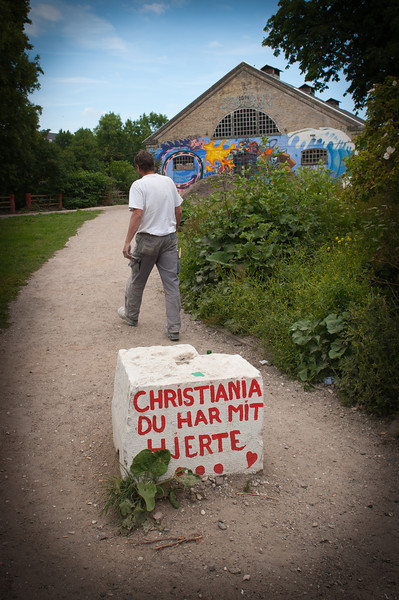 """Christiania, you have my heart"", Copenhagen"
