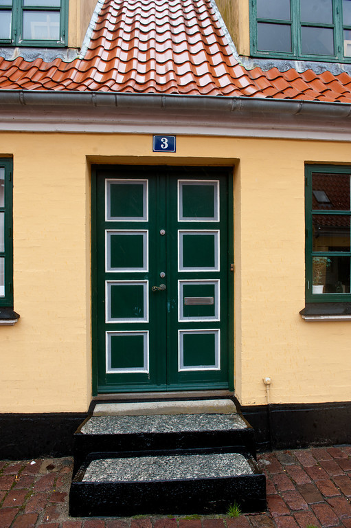 Green door 3, Aeroskobing