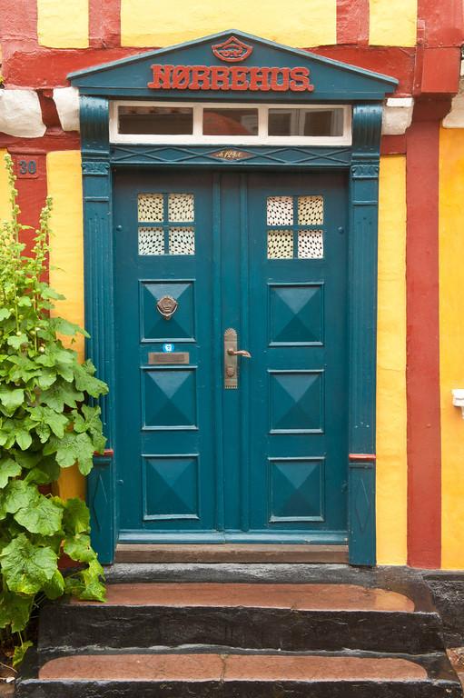 Norbehus blue door 30, Aeroskobing