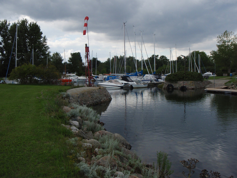Small Danish Harbor