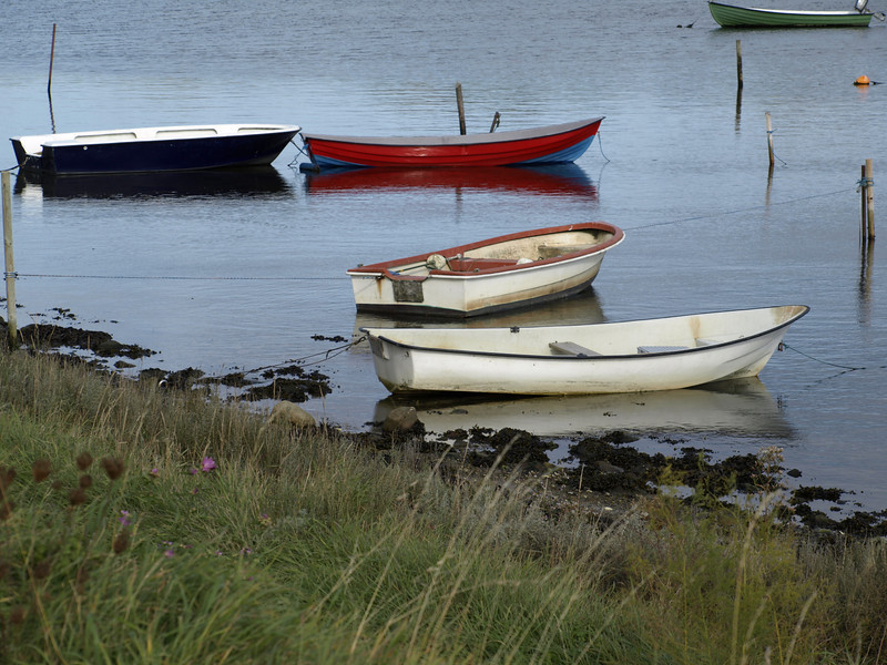 Boats south of Enabaerodde