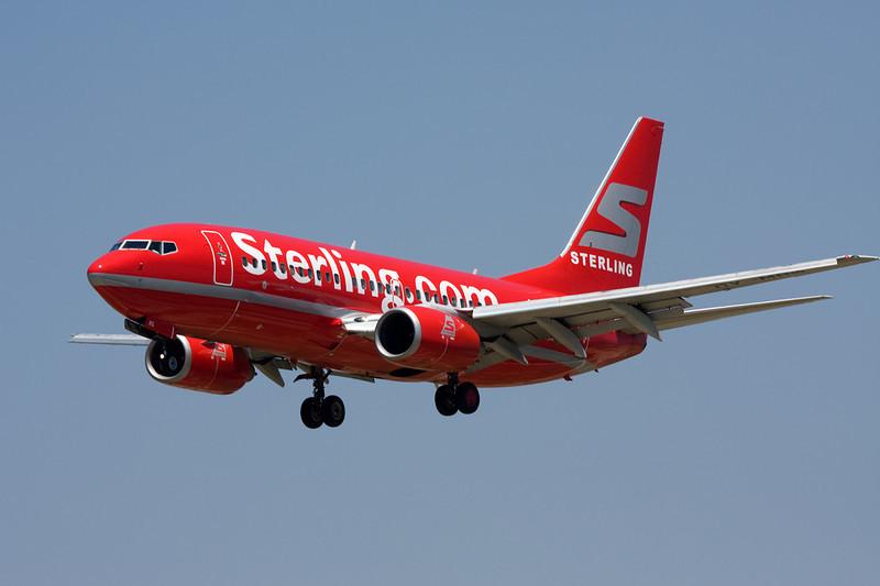 """OY-MRG Boeing 737-7L9 """"Sterling Airlines"""" c/n 28010 Barcelona-El Prat/LEBL/BCN 29-06-08"""