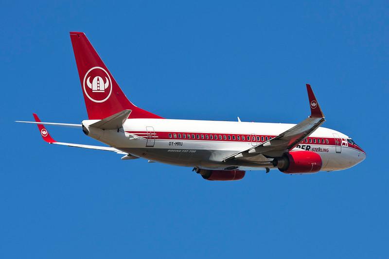 OY-MRU Boeing 737-73S c/n 21-06-10 Montpellier-Mediterrannee/LFMT/MPL 21-06-10