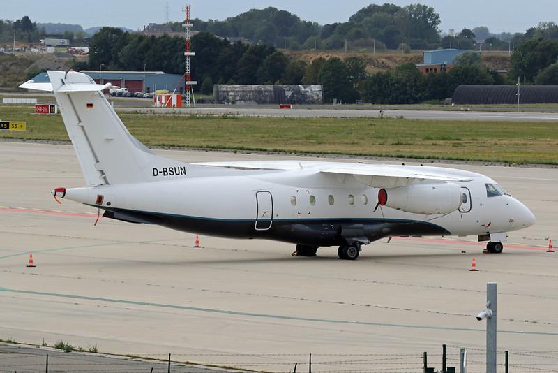 """D-BSUN Dornier Do.328-310 Jet """"Sun-Air"""" c/n 3147 Liege/EBLG/LGG 25-08-20"""