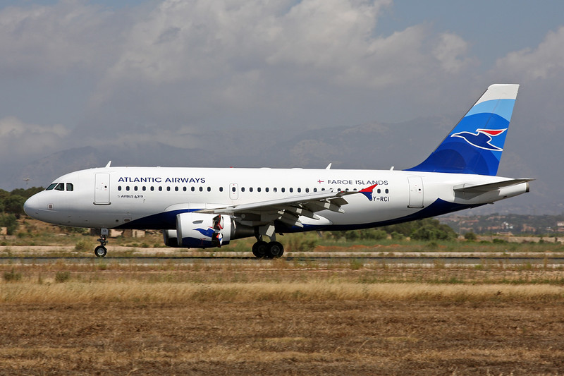 "OY-RCI Airbus A319-112 ""Atlantic Airways"" c/n 3905 Palma/LEPA/PMI 15-06-16"