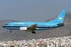"OY-APG Boeing 737-5L9 ""Maersk Air"" c/n 28131 Athens-Hellenikon/LGAT/ATH 20-09-00 (35mm slide)"