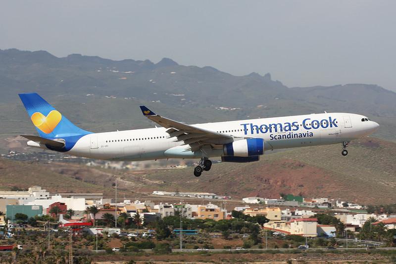 "OY-VKI Airbus A330-343X ""Thomas Cook Scandinavia"" c/n 357 Las Palmas/GCLP/LPA 03-02-16"