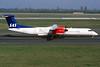 LN-RDK de Havilland Canada DHC-8 Q-402 c/n 4025 Dusseldorf/EDDL/DUS 12-04-03 (35mm slide)