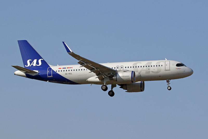 SE-ROL Airbus A320-251N c/n 9352 Malaga/LEMG/AGP 23-07-20