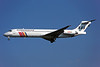 OY-KHW Douglas MD-87 c/n 53348 Dusseldorf/EDDL/DUS 18-07-96 (35mm slide)
