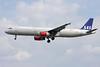 OY-KBK Airbus A321-232 c/n 1587 Brussels/EBBR/BRU 31-05-09