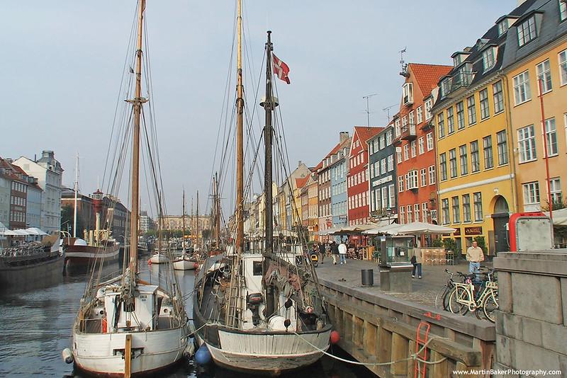 Nyhavn, Indre By, Copenhagen, Denmark.