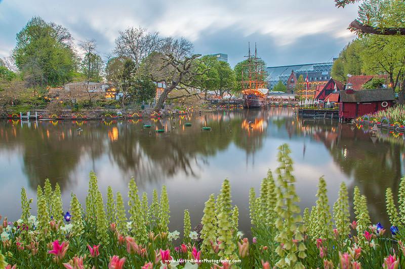 Tivoli Gardens, Copenhagen, Denmark.