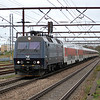 EA 3020 arrives into Odense with the night train from Praha/Basel/Amsterdam on the 15th September 2013.