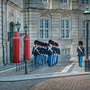 Copenhagen - Changing of the Palace Guard - Amalienborg Palace