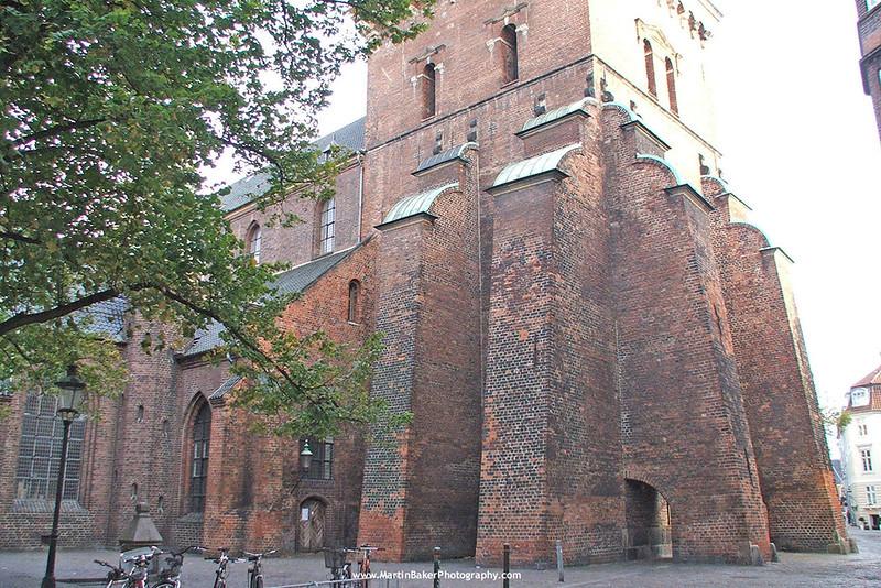 St. Nicholas Church, Indre By, Copenhagen, Denmark.