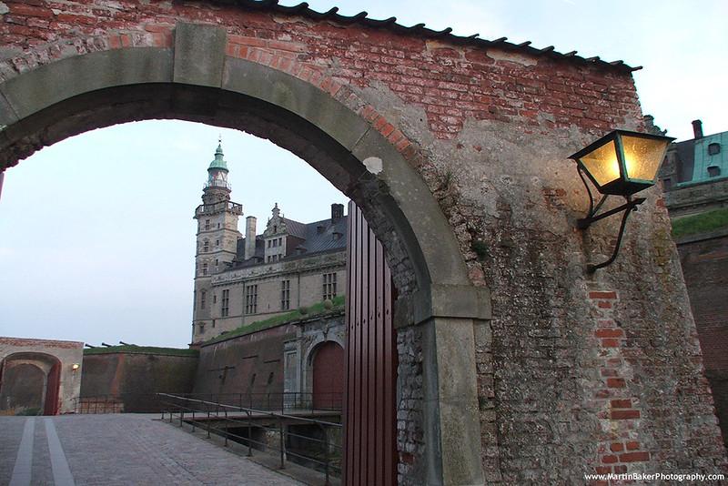Kronborg Slot, Helsingør, Zealand, Denmark.