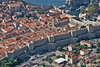 Dubrovnik Walls and Old Town from above the city