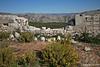 Bosnia from bunker on hill above Dubrovnik