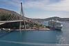 Suspension Bridge in Dubrovnik