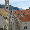 Dubrovnik's main street - the Stradun