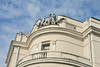 More Socialist Realist architectural details at the Ministry for Internal Affairs No. 15 Independence Ave.