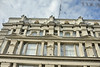 Classic Socialist Realist architectural details on the GUM (ГУМ) Department store